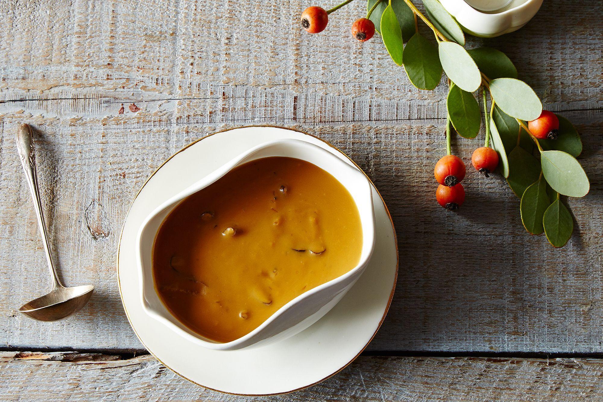 Vegetarian Mushroom Thyme Gravy Recipe Recipes