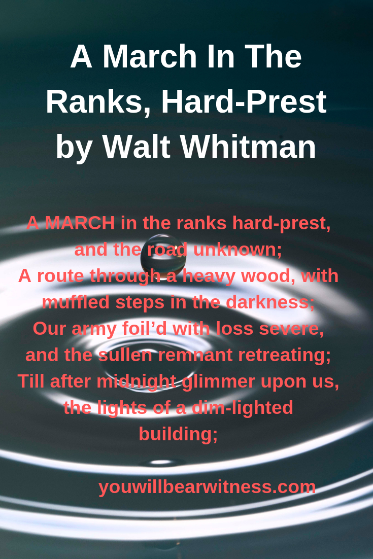 A March In The Ranks HardPrest A MARCH in the ranks hardprest and the r A March In The Ranks HardPrest A MARCH in the ranks hardprest and the road unknown A route through...