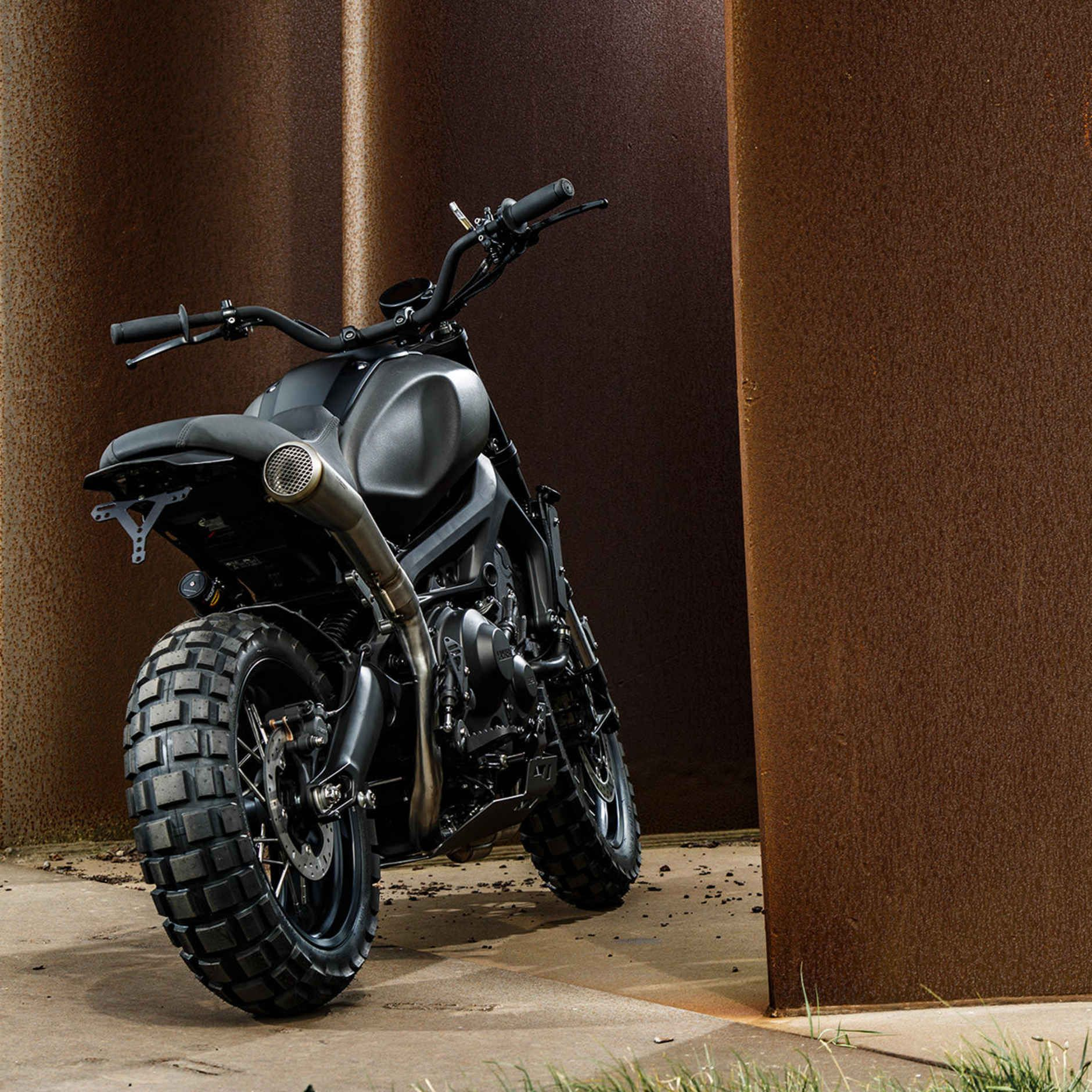 Moto yamaha scrambler cars motorcycles bobber forward mt09 yamaha - Wrenchmonkees Transformed A Yamaha Into A Flat Out Beauty