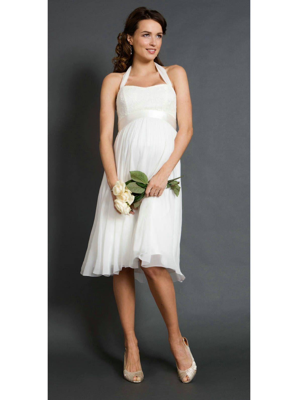 Maternity wedding dress with sleeves  Pin by Clariola Fenoll Garcia on ROPA CALZADO Y ACCESORIOS
