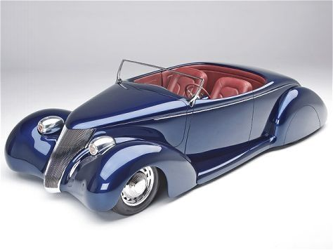 1936 Fords are not the prettiest of the old Fords but this mild custom knocks it out of the park!
