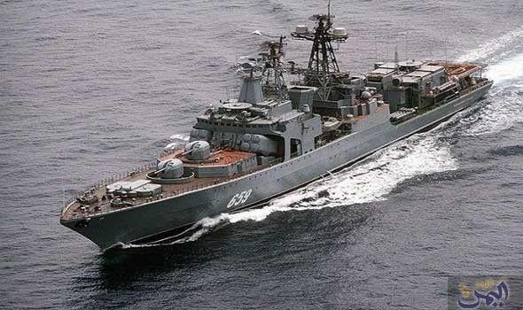 السفن الحربية الروسية تستهدف غواصات افتراضية معادية في بحر بارنتس