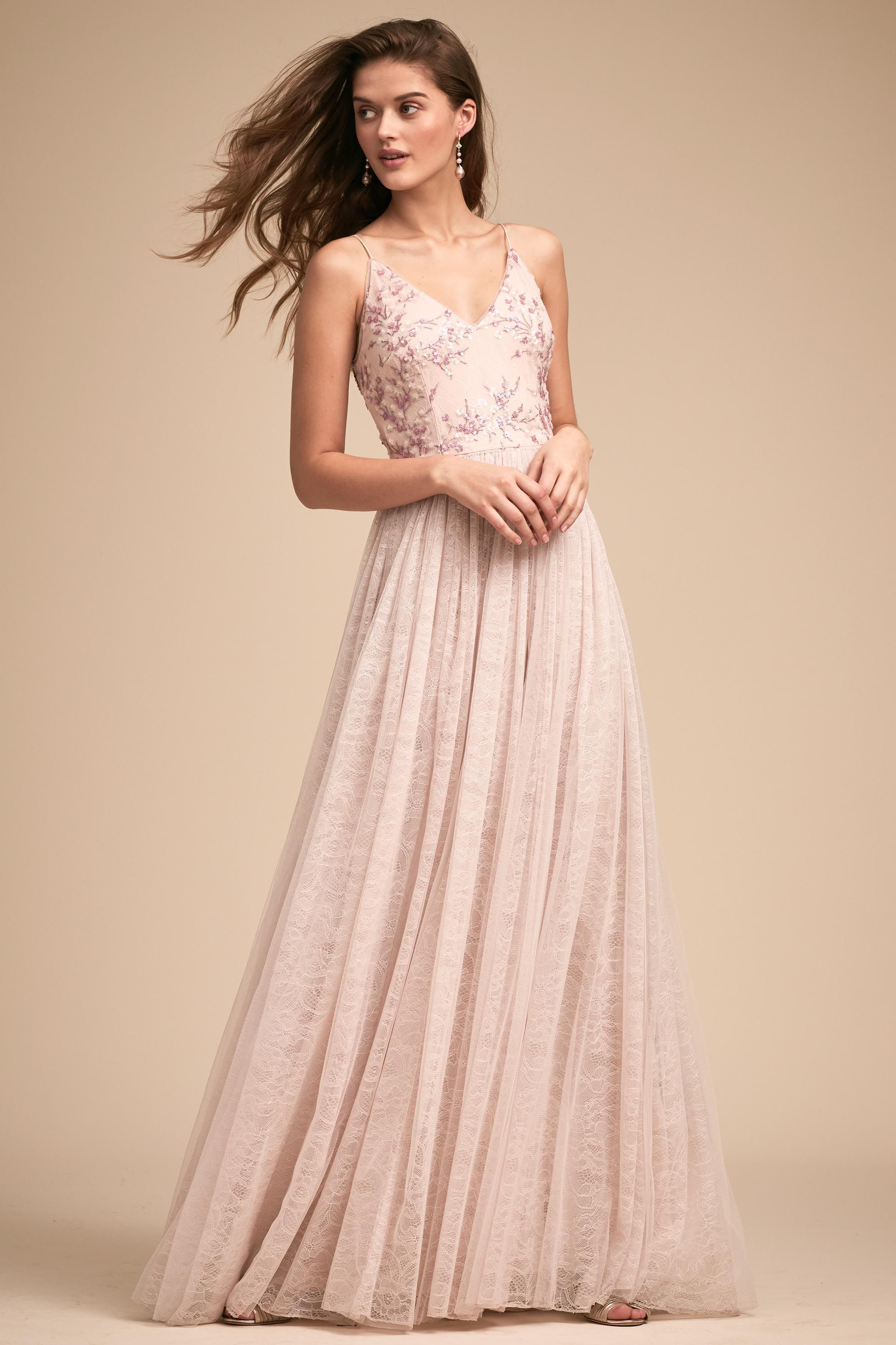 Cluny Dress | Wedding bridesmaid dresses, Pink bridesmaid dresses ...