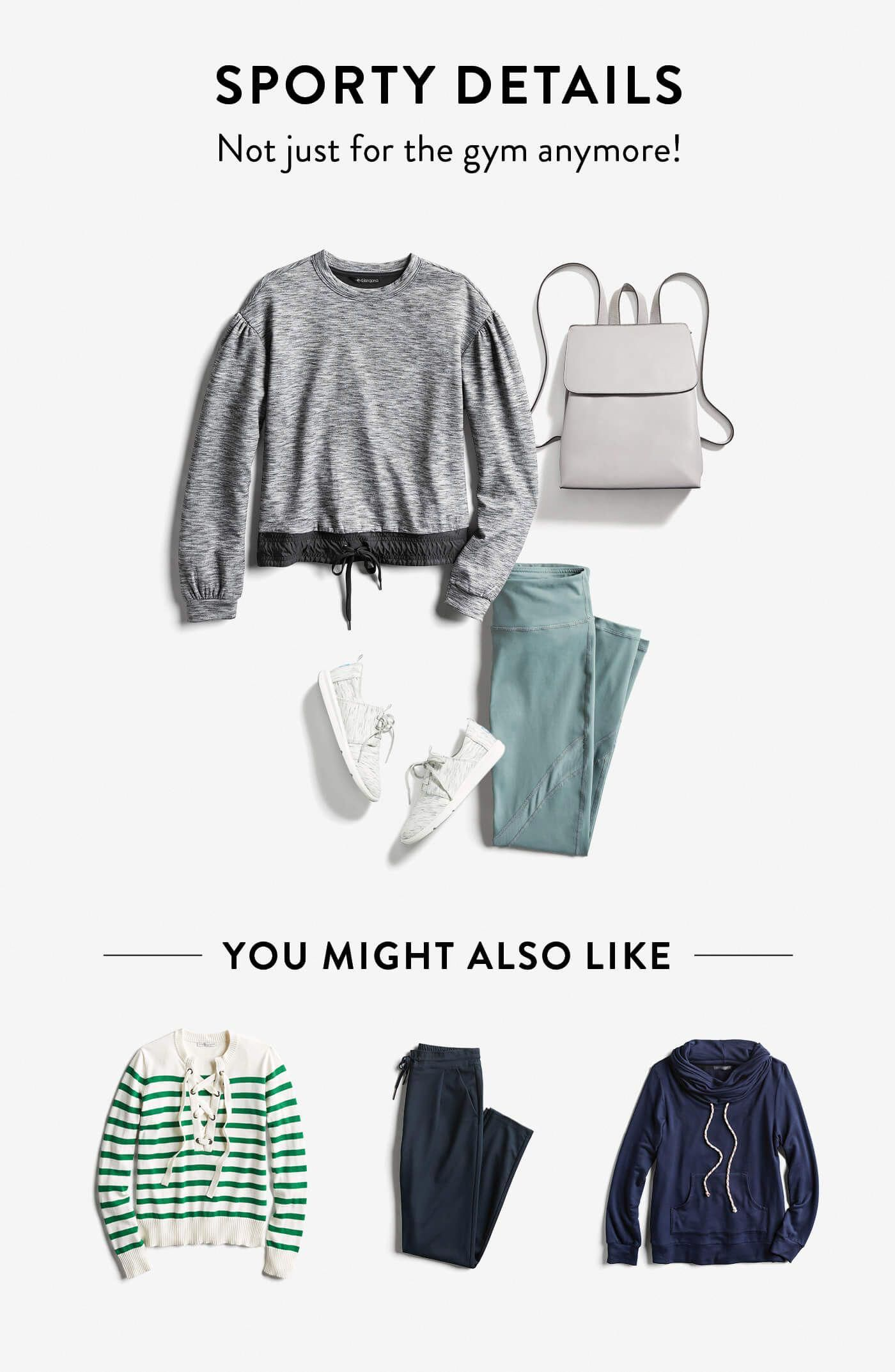 Fashion Trends I love everything but the striped green top and