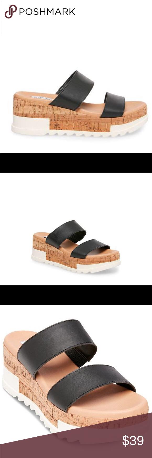 Flatform sandals, Steve madden shoes