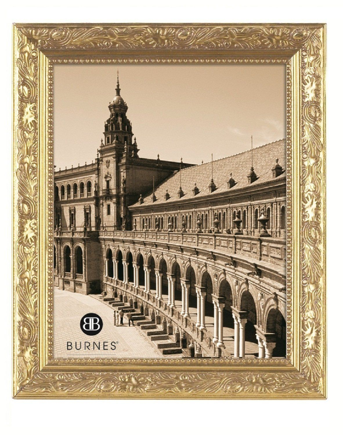Burnes Of Boston 266445 Windsor Leaves Picture Frame 4 Inch By 5