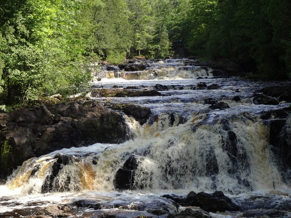 Copper Falls State Park Beautiful Place In Northern Wisconsin State Parks Beautiful Places Copper Fall