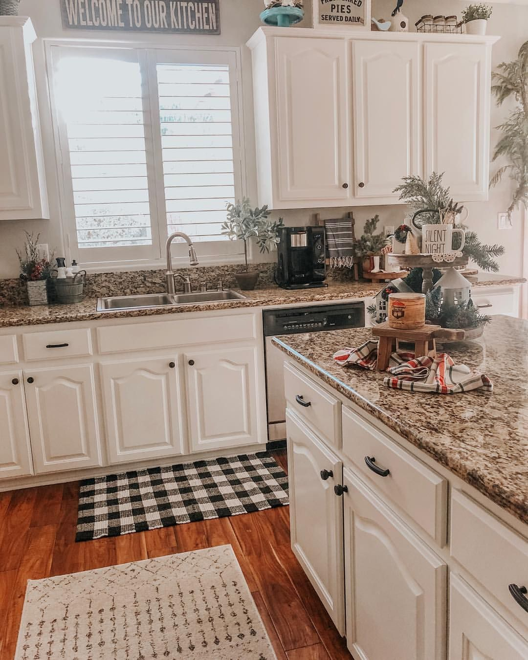 Good Morning Friends Any Big Plans Today Yesterday I Ordered Some Peel And Stick Wallpaper To Add A Backsplas Home Decor Kitchen Inspirations Kitchen Design