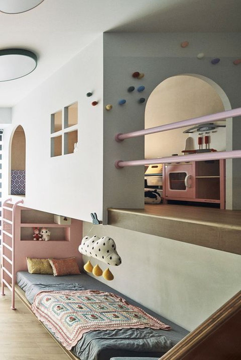 34 Charming Kids Bedroom Design Ideas For Dream Homes In 2020 Cool Kids Bedrooms Stylish Kids Room