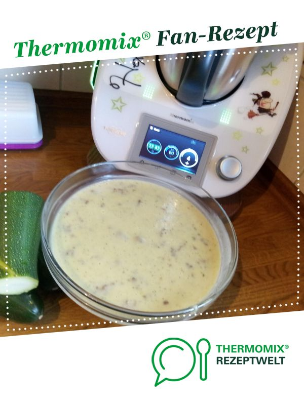 Photo of Zucchini cheese soup with mince