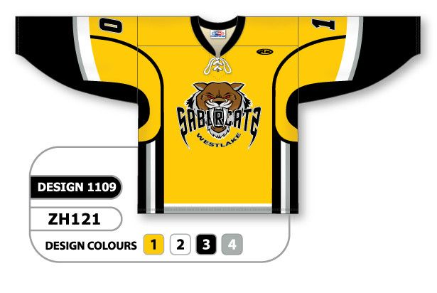Custom Sublimated Hockey Jersey Design 1109 can be made in any color  combination b52f3f8acb9