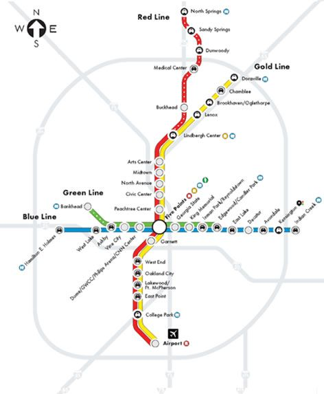 MARTA is SMARTA Theres a MARTA station right down the road from