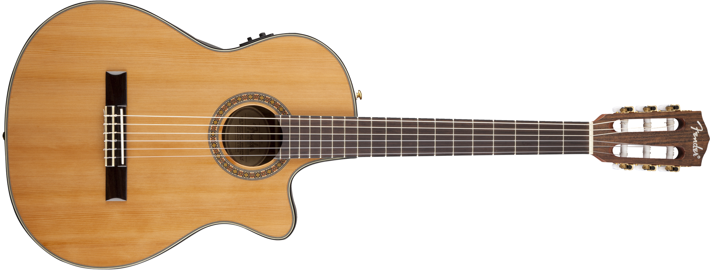 Cn 240sce Thinline Classical Solid Top Classical Body Acoustic Guitars Fender Acoustic Guitar Acoustic Bass Guitar Guitar