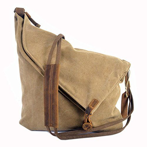 aa90478f184 Gracemen Portable Canvas Crossbody Shoulder College Satchel | Bag ...