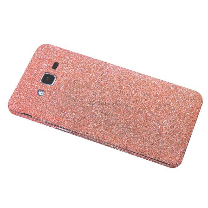 Full Body Glitter Bling Sticker For Samsung Galaxy J2 Prime Strass Coque Luxury Shining Skin Cover Case For Galaxy J2prime Bling Sticker Case Body Glitter