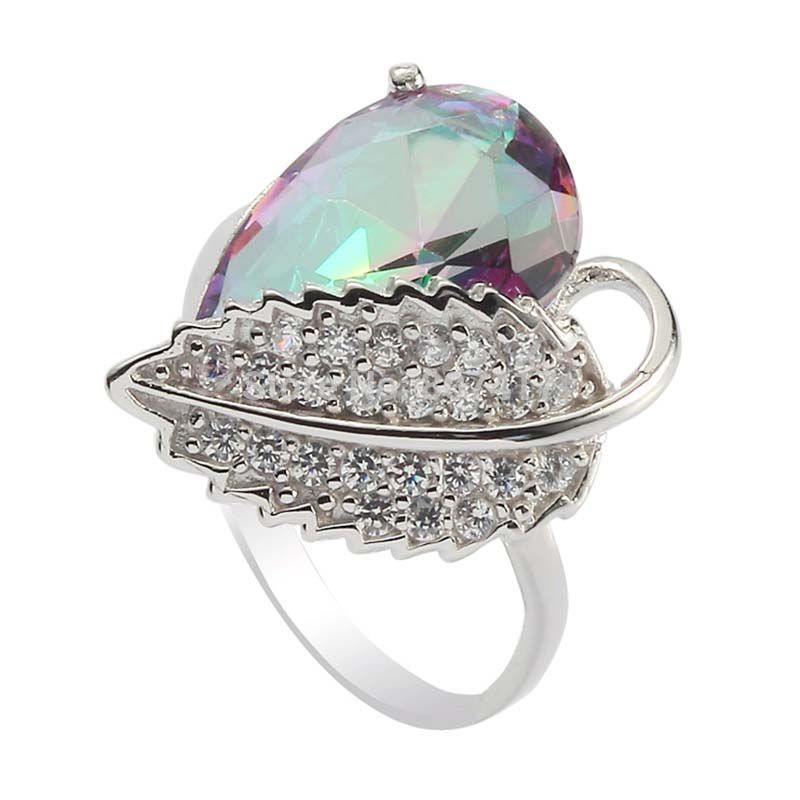 Magfiel Sterling Silver Rings Cubic Zirconia