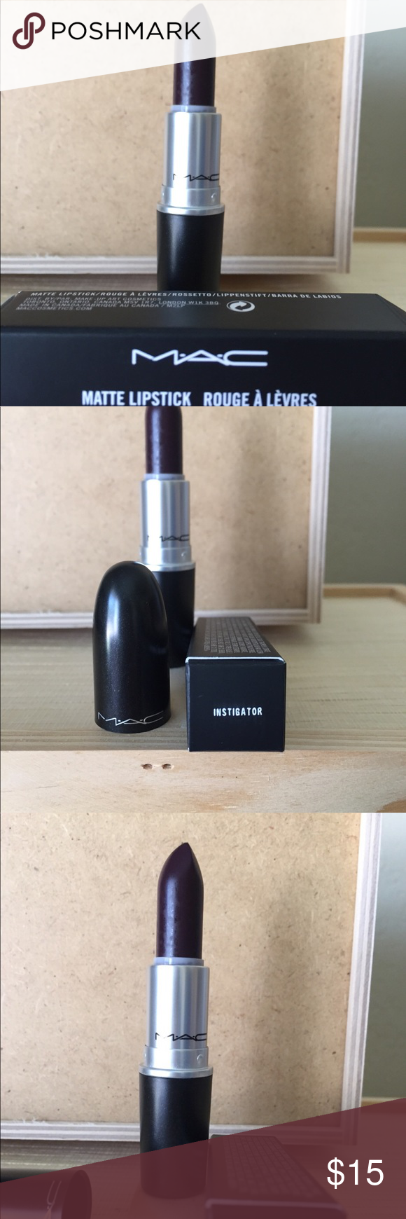 NEW MAC Matte Lipstick in Instigator New & 100 Authentic