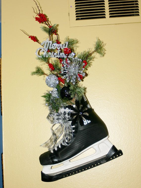 Ice Skates Decoration Christmas Decoration Hockey Hockey