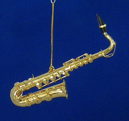 Saxophone Ornament Music Gifts ALTO