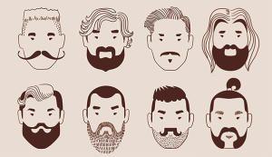 Bart auf stehen frauen Darum stehen