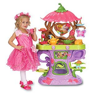Disney Fairies Tinker Bell Talking Cafe Play Set Furture