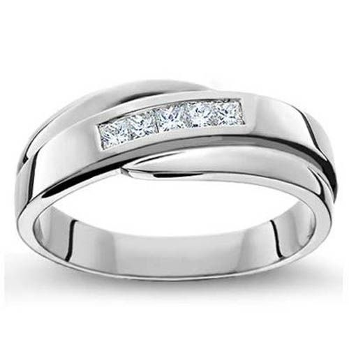 white gold wedding ring his and hers rings - Wedding Rings For Him