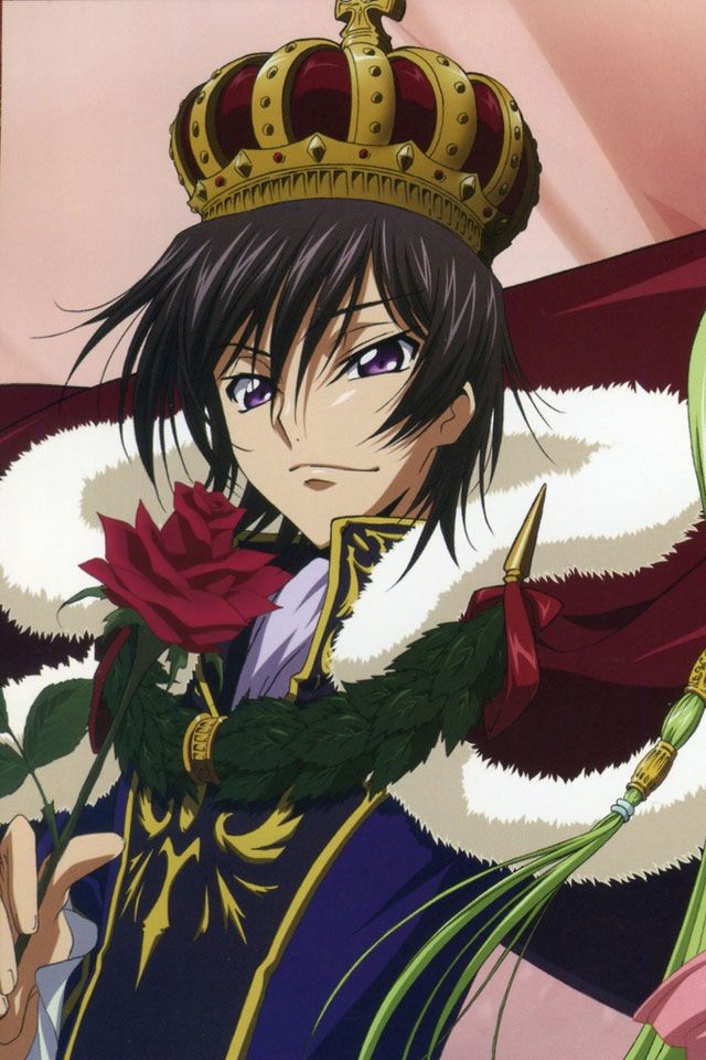 Lelouch Vi Britannia, 99th emperor of the holy empire of