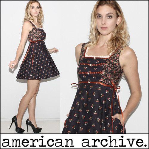 Vtg 70s Gunne Sax Calico Floral Prairie Lace Trim Boho Hippie Dolly Mini Dress | eBay