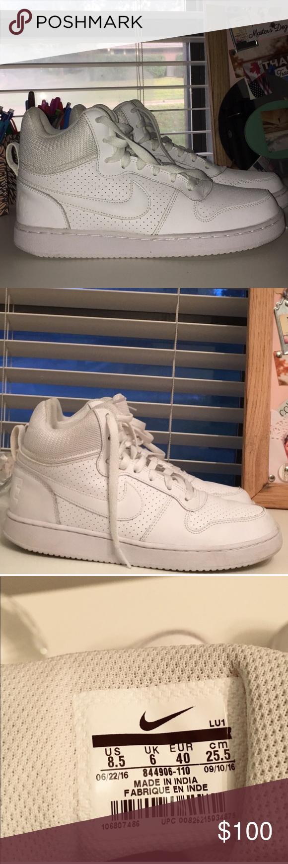 White Nike Air Force 1s | White nikes