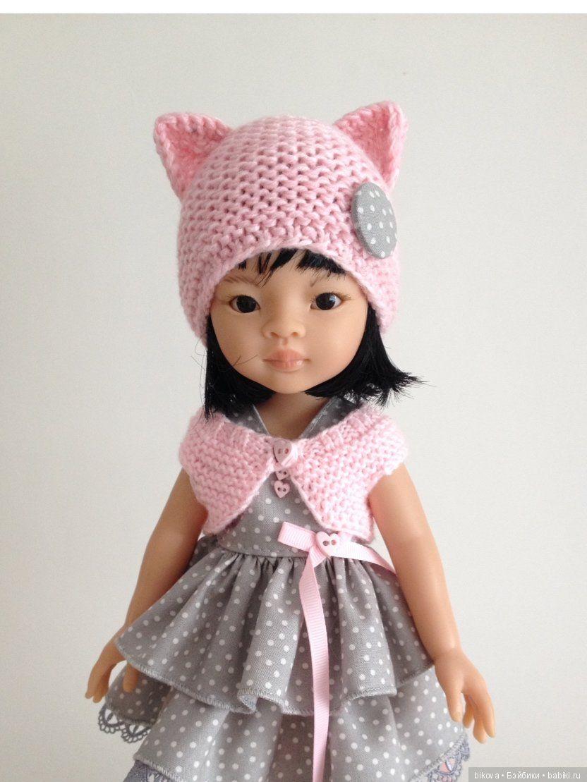 Одежда для кукол паола своими руками