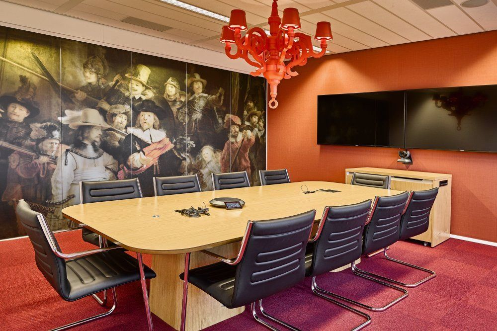 New Purpose Has Developed The New Offices Of Cloud Computing Service  Company Rackspace Located In Amsterdam, Netherlands. Rackspace Have  Relocated To The T