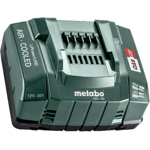 Metabo Asc 145 12v 36v Li Ion Battery Fast Charger 627378000 Li Ion Battery Charger Battery