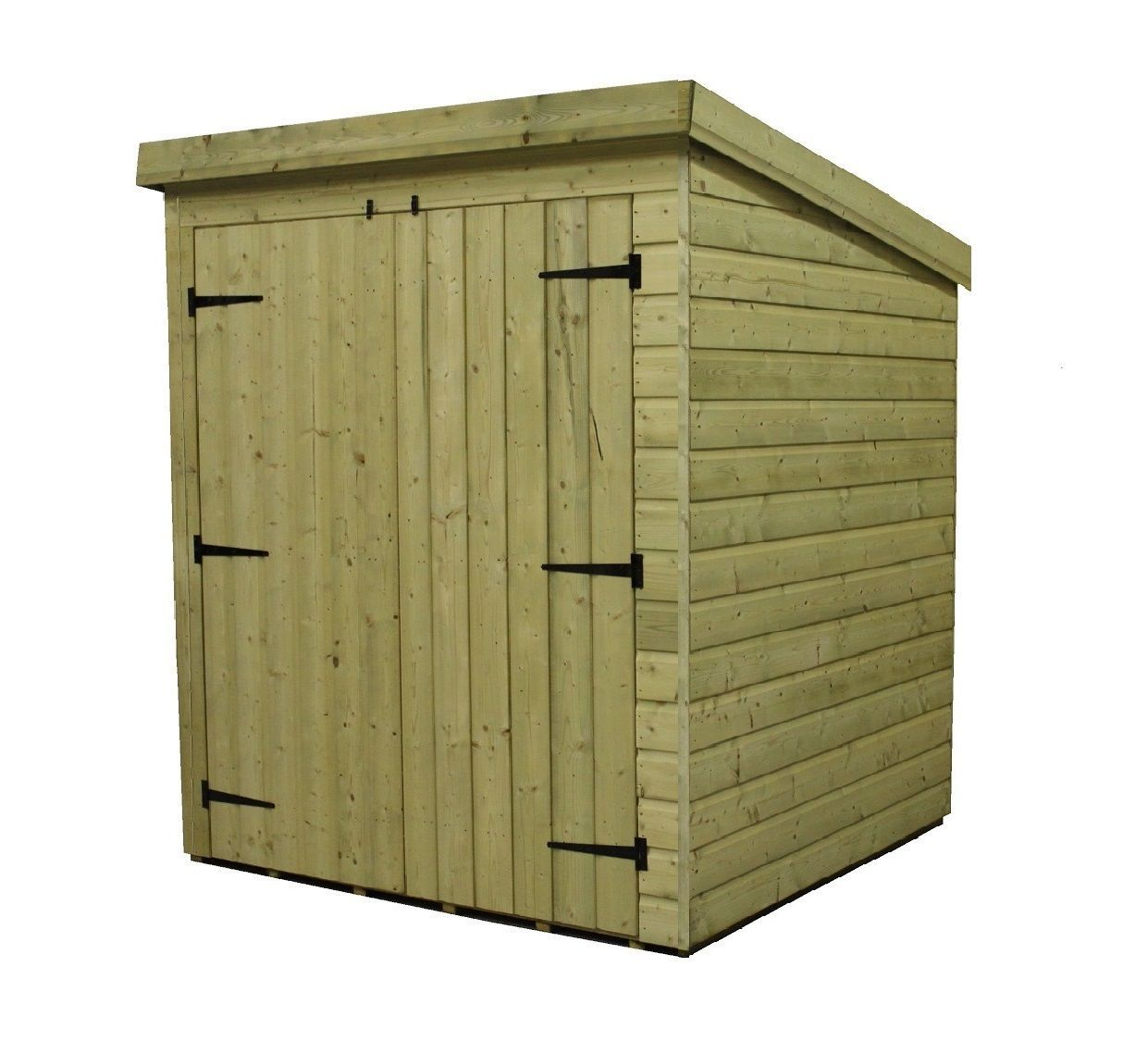 Pent Garden Shed 6x3 Shiplap Pressure Treated Tanalised