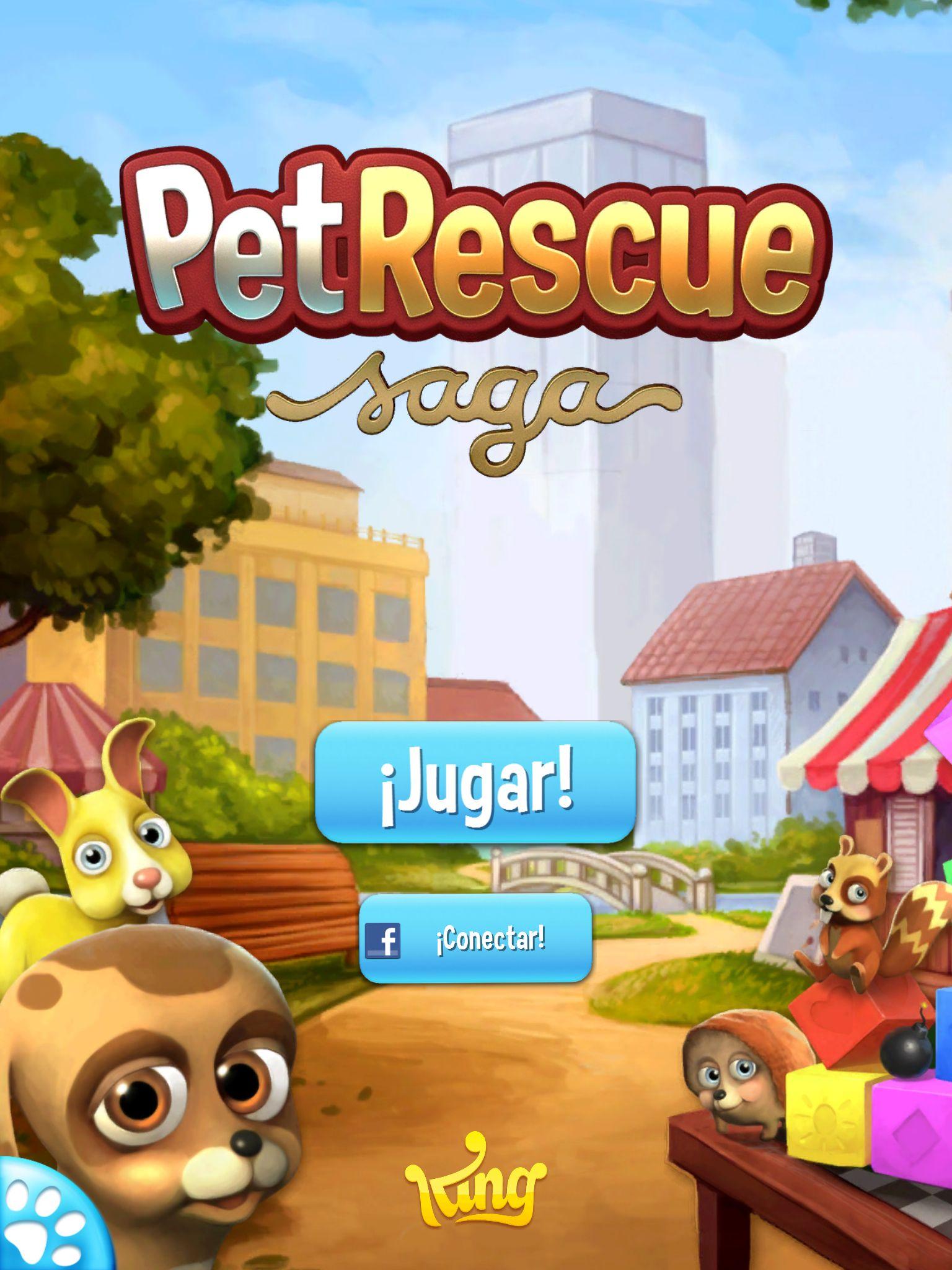 Pet Rescue Saga Jogos