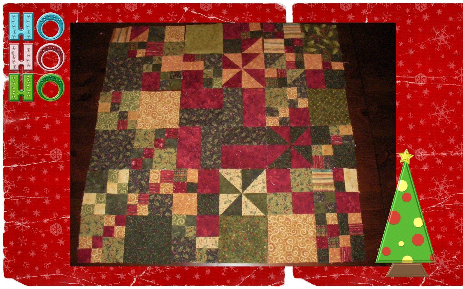 Manta de patchwork
