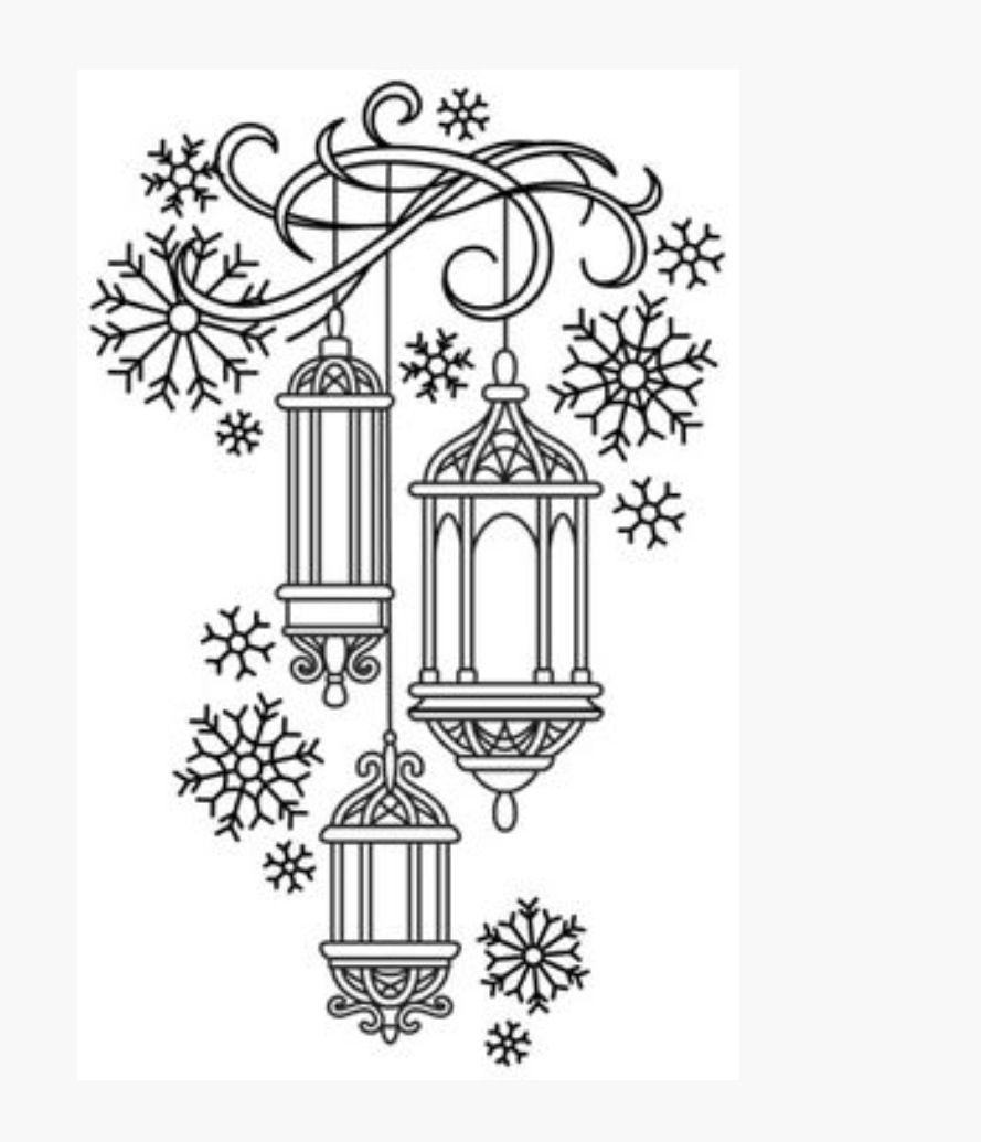 Pin Von Jennifer Issler Auf Elka Weihnachtsmalvorlagen Weihnachtsstickerei Kreidemalerei