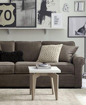 Remo II Fabric Sofa Living Room Furniture Collection - Furniture