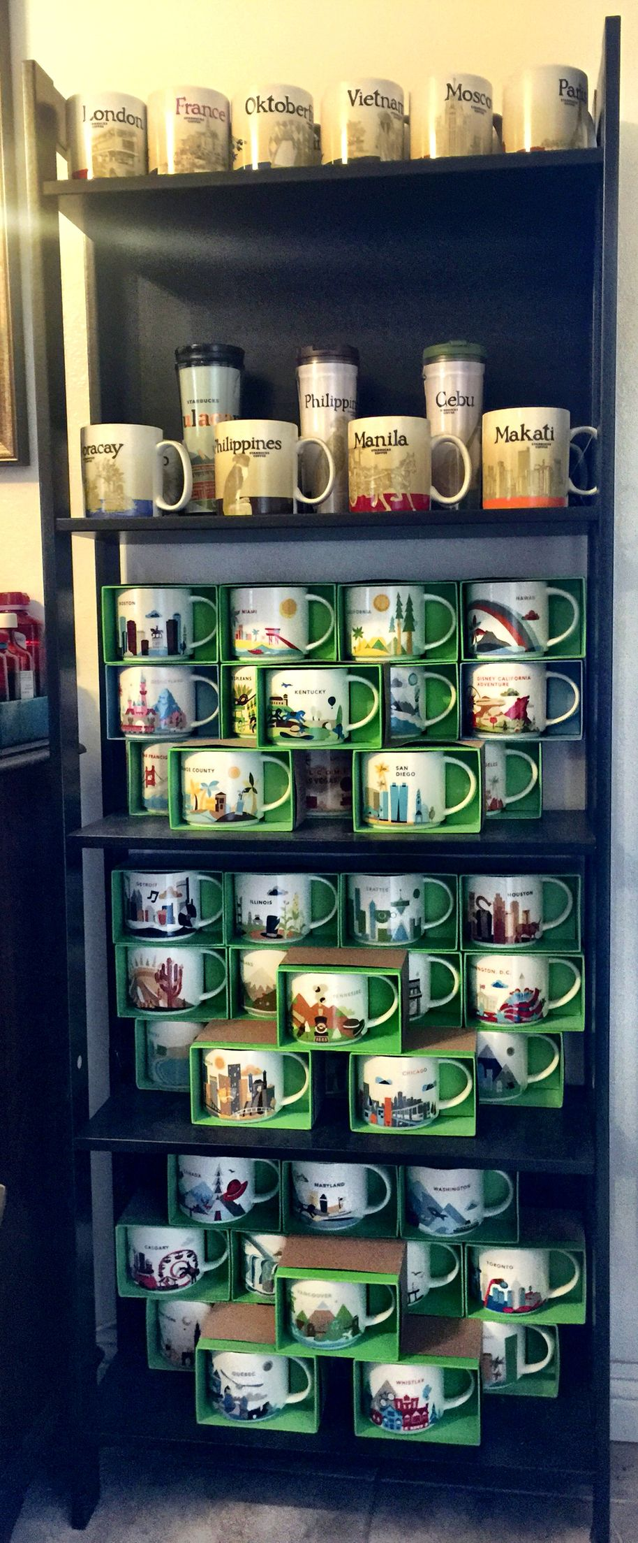 I may need to buy another stand for my Starbucks Mug Collection