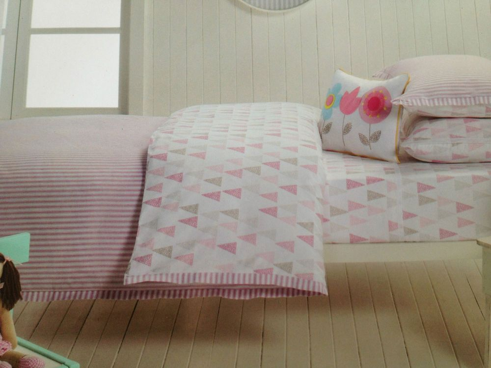 Designers Choice Girls Single Bed Lily Stripe Quilt Cover Set ... : designer bed quilts - Adamdwight.com