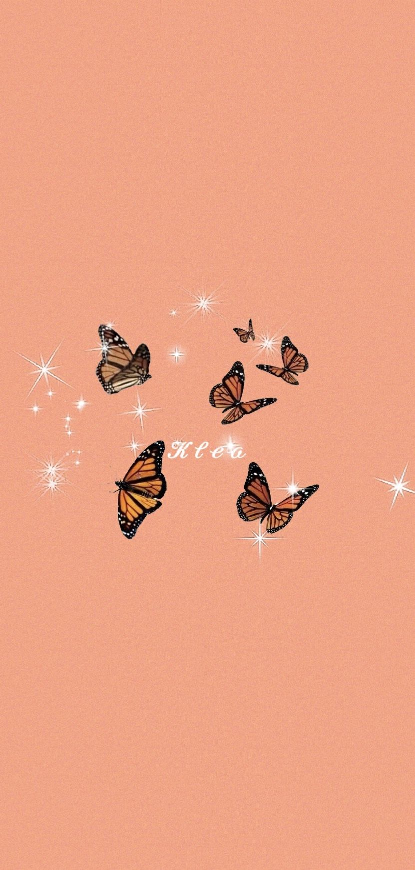 Butterfly Wallpaper Iphone Pink Wallpaper Cartoon Aesthetic Iphone Wallpaper