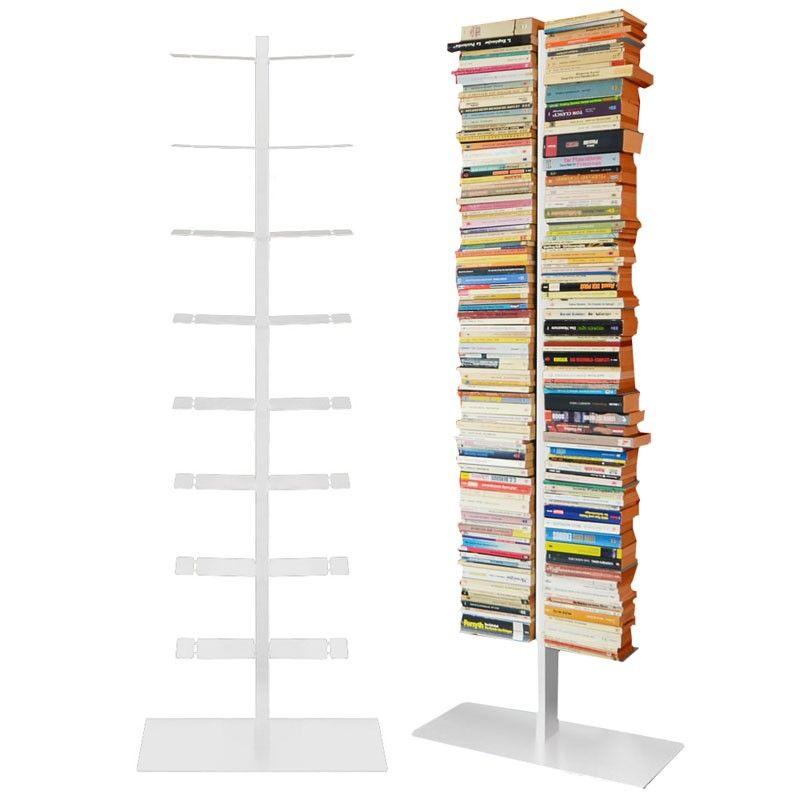 Radius Booksbaum Regal Weiss Mit Stand Gross 717 B Mocavi Der Design Shop In 2020 Regal Regal Weiss Bucherregal