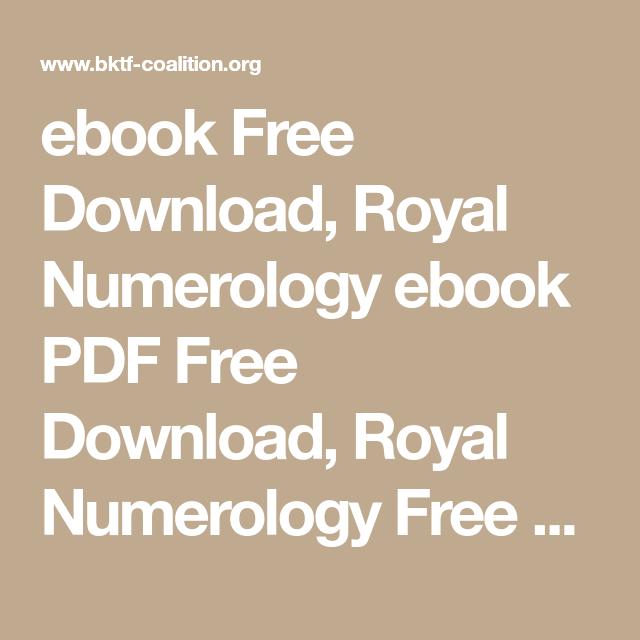 Numerology Book Pdf