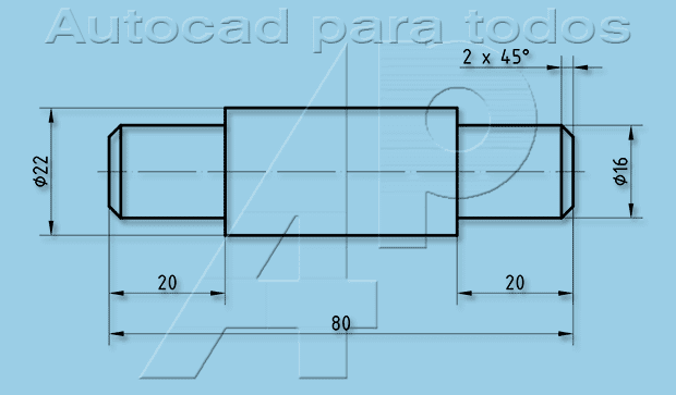 Autocad Para Todos 100 Practico Proyecto 2 Rondana Pivotante 19 Planos De Eje Planos Autocad Clases De Dibujo
