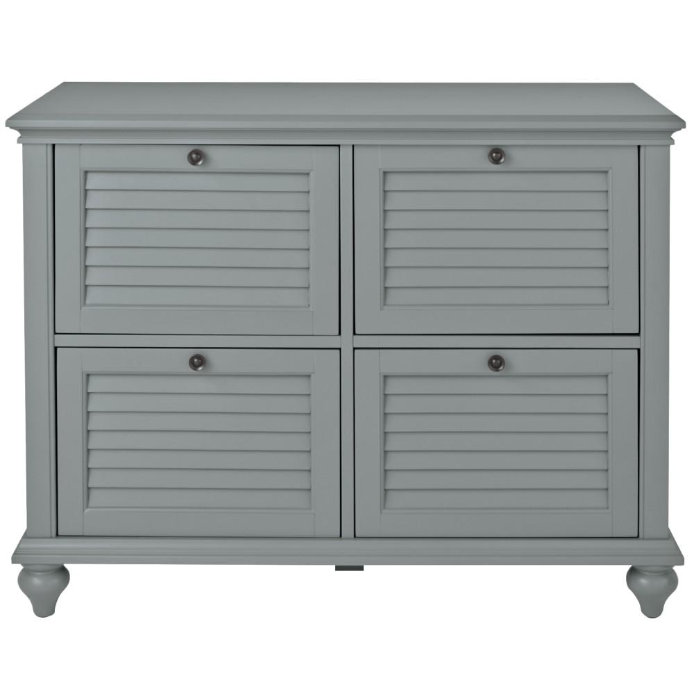 Home Decorators Collection Hamilton Grey 4 Drawer File Cabinet 9786800270 Filing Cabinet 4 Drawer File Cabinet Home Office Accessories