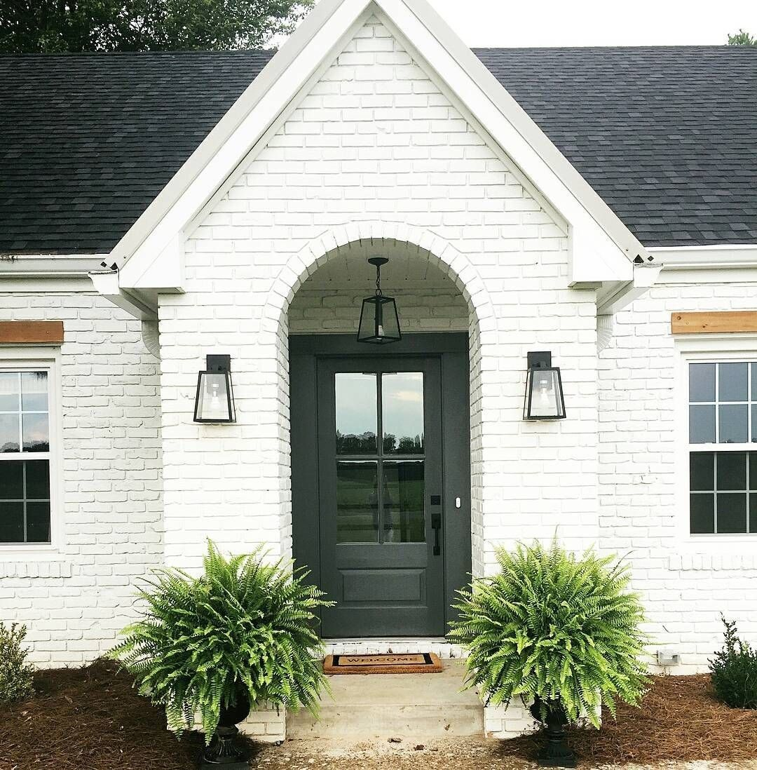 Beautiful White Brick Exterior Home Pictures And Ideas Brick