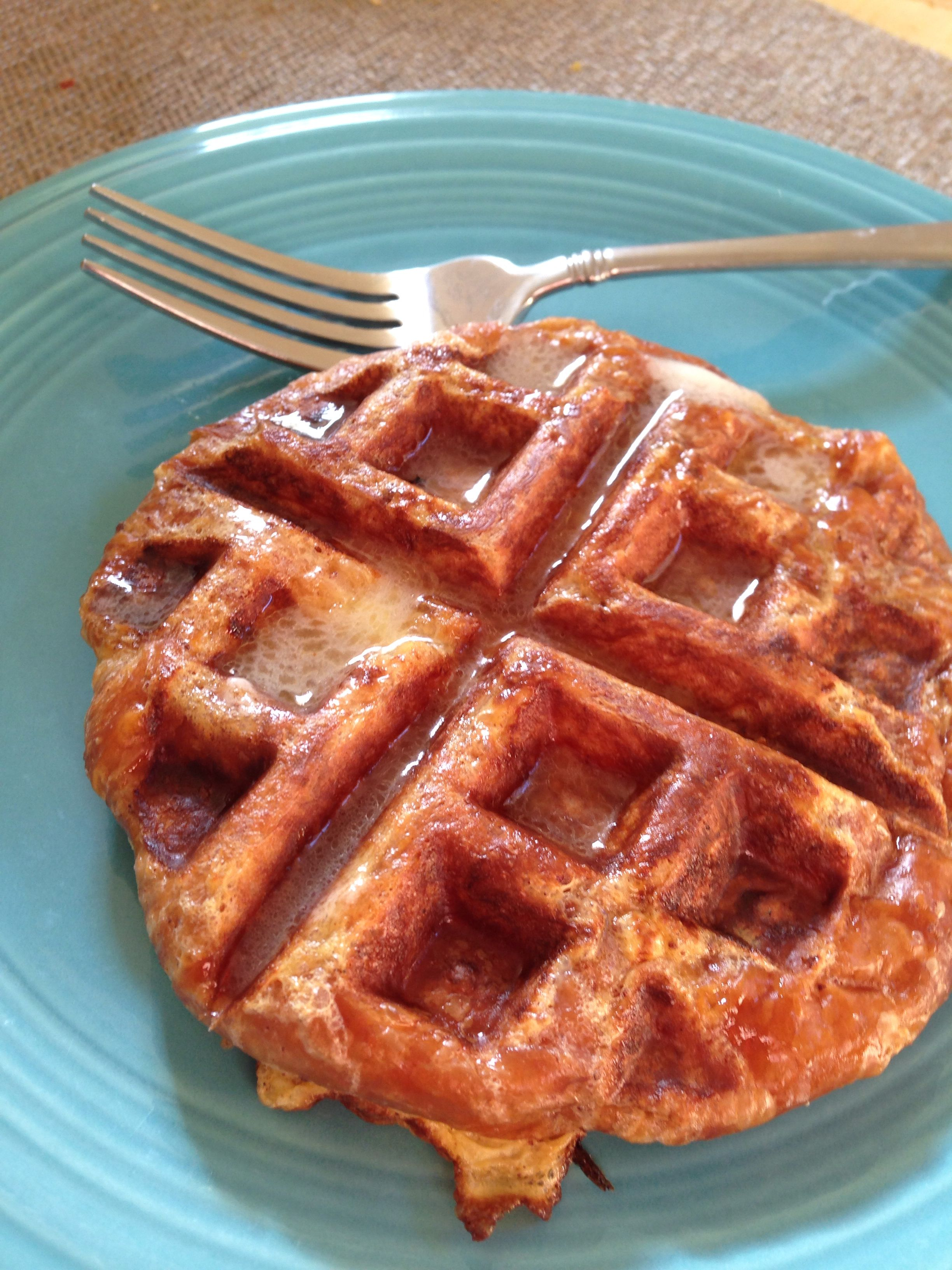 Inspiration from rachael ray waffle french toast