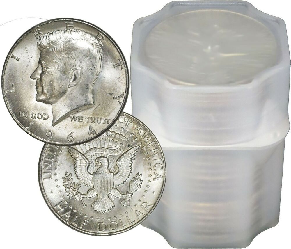 20 Coins $10 1 ROLL 90/% Silver Coin Lot Franklin Half Dollars Circulated