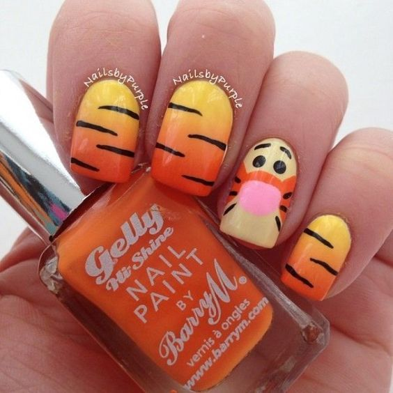 Diy Nail Ideas Doc Martens Nail Art And More Of Our: 20 Cute Disney Nails You Must Have In Your Life #5