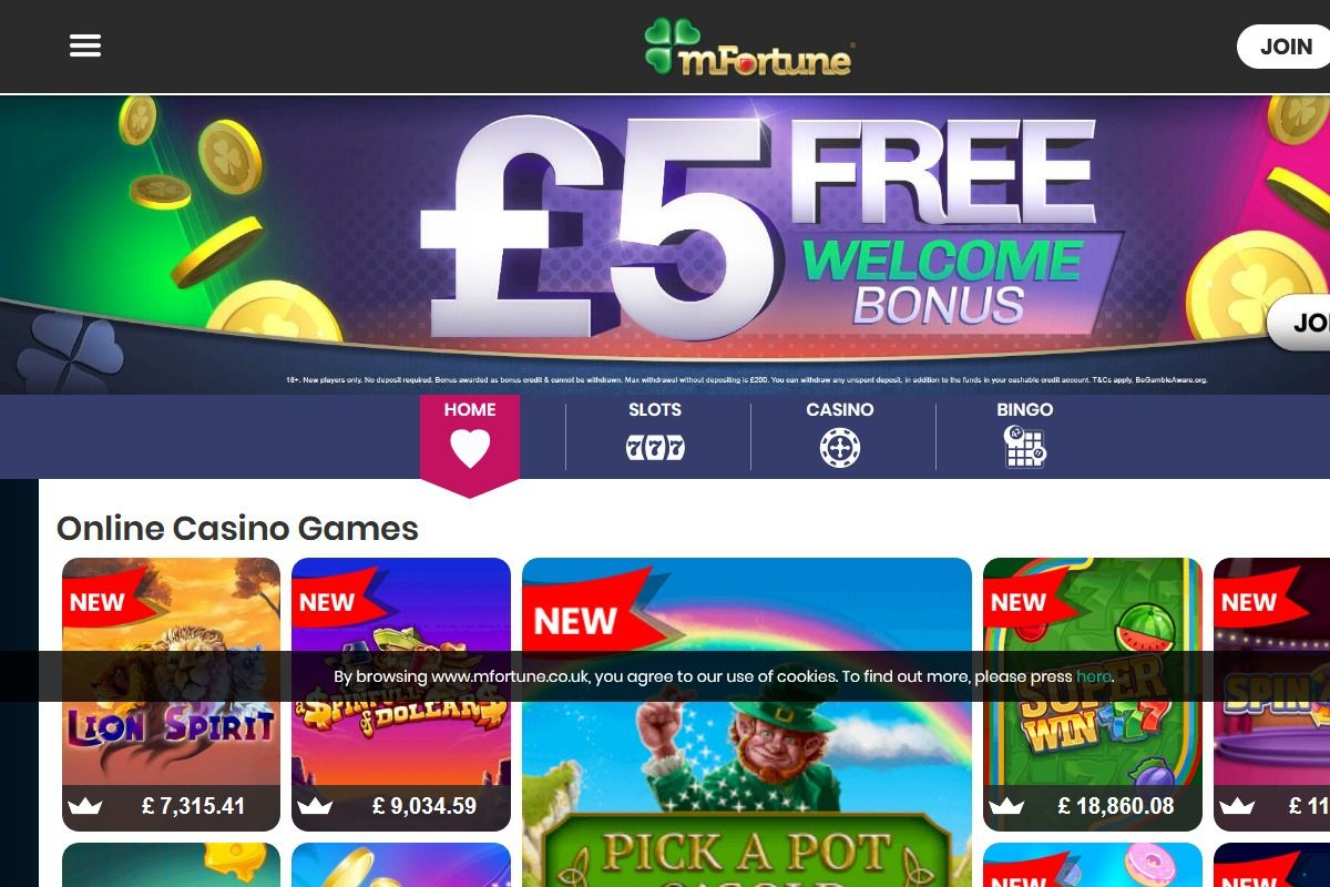 MFortune in 2020 Online casino reviews, Online casino