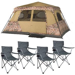 Ozark Trail Realtree 8 Person Instant and Furniture Value Bundle - Love that the tent isn  sc 1 st  Pinterest & Ozark Trail Realtree 8 Person Instant and Furniture Value Bundle ...